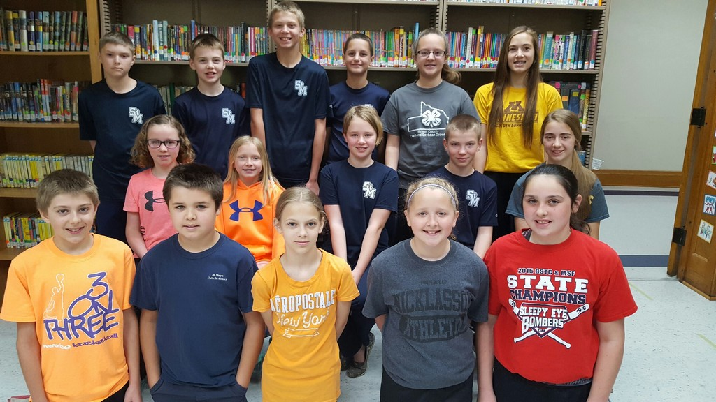 St. Mary's Accelerated Reading Point Clubs