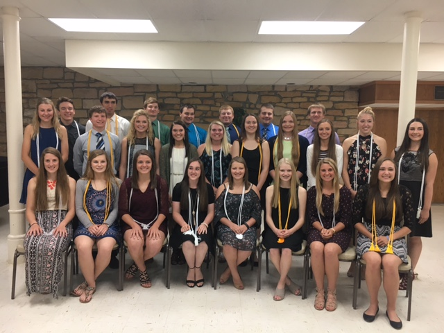 St. Mary's Honor Cord Recipients