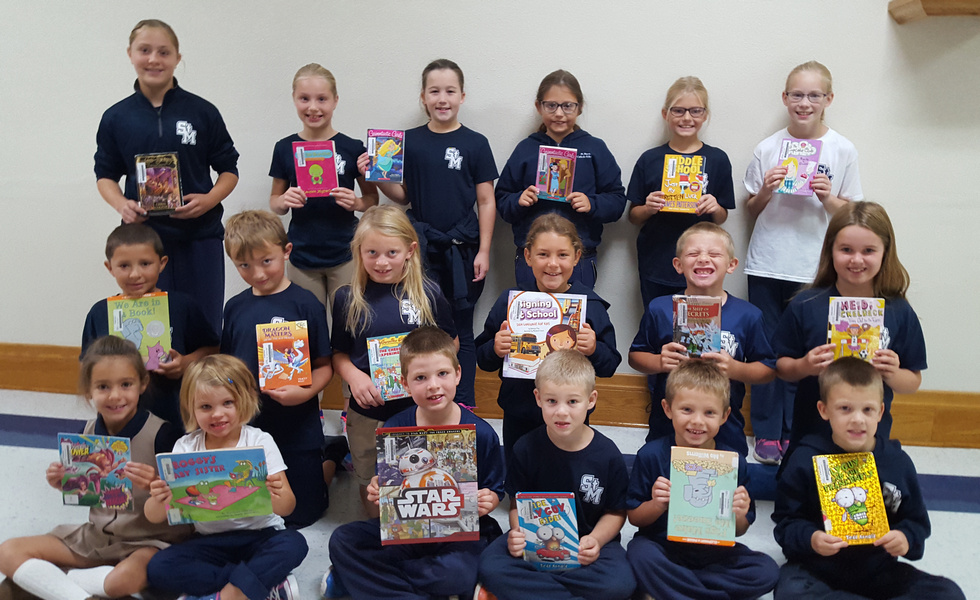 St. Mary's students read A to Z