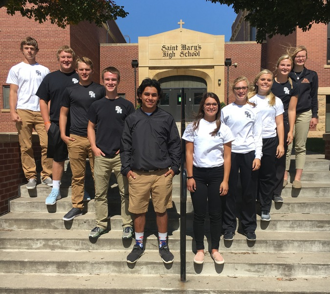 St. Mary's announces Homecoming court