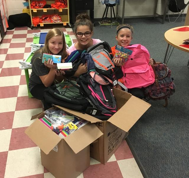 Sleepy Eye fifth graders donate to Hurricane Harvey victims