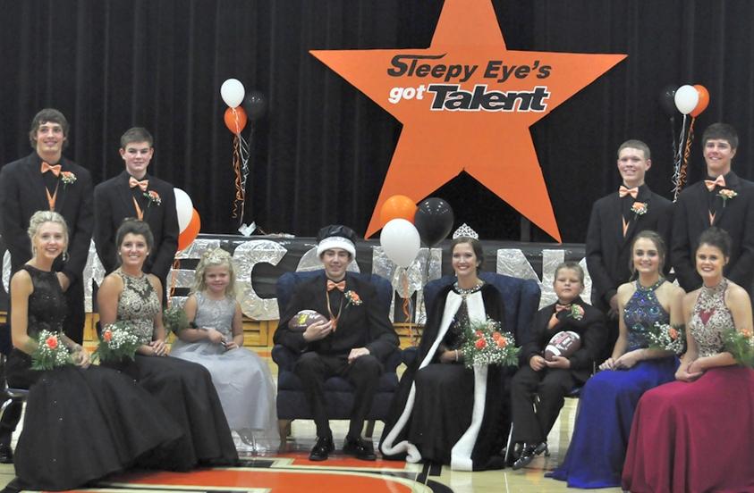 Polesky, Haala crowned SEHS Homecoming Royalty