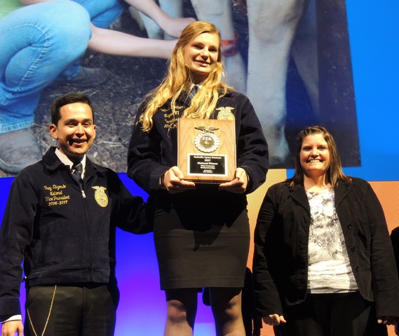Sleepy Eye FFA Takes on the 90th National FFA Convention, Portner Named National Winner