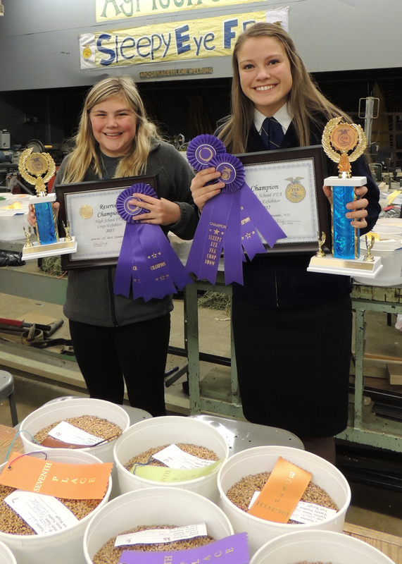 Sleepy Eye FFA Crop Show A Huge Success