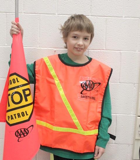 Sleepy Eye Elementary School Patroller of Month