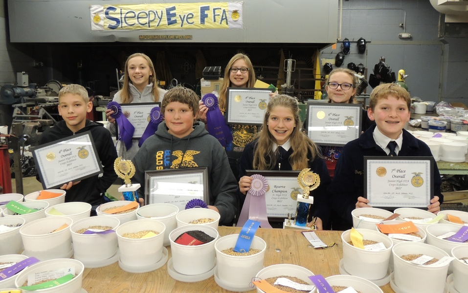 Jr. High FFA Crop Show Results