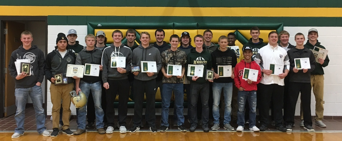 St. Mary's Football Award Winners