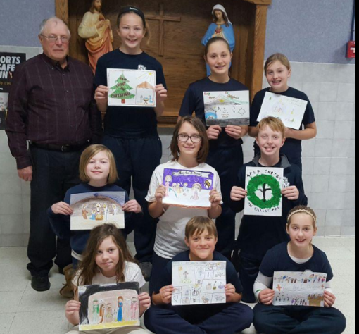 Keeping Christ in Christmas poster contest winners