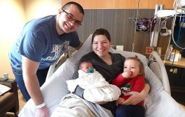 Sleepy Eye couple delivers first baby of new year at New Ulm Medical Center