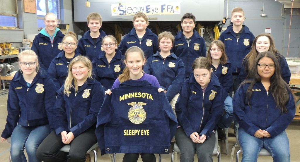 Blue Jackets Awarded to Local FFA Members