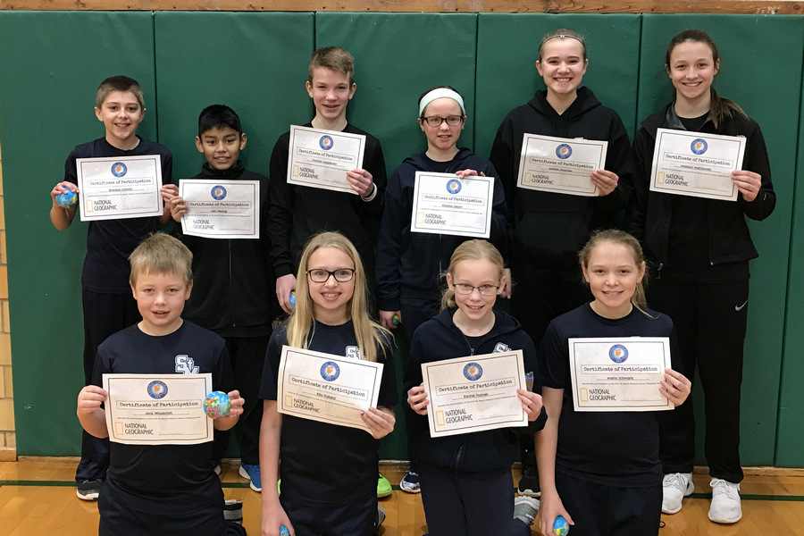 Portner wins St. Mary's Geography Bee
